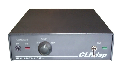 ClearSpeech ® DSP Noise Reduction Processor