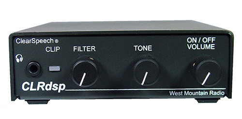 West Mountain Radio - CLRdsp ClearSpeech® DSP Noise