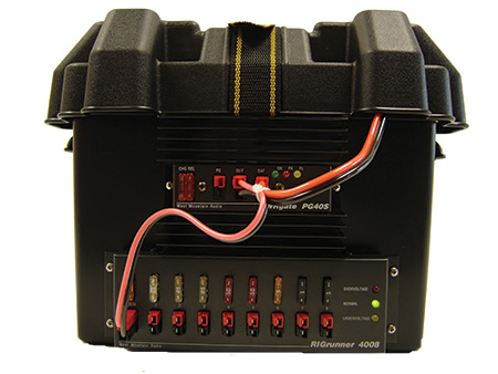 West Mountain Radio Dc To Go Battery Box W Rigrunner