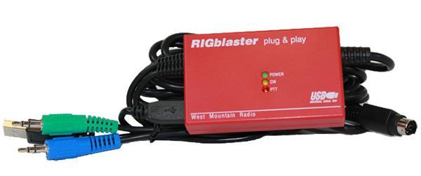 West Mountain Radio RIGblaster Plug /& Play Adapter for Icom DIN-8