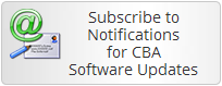 Subscribe to Notifications for CBA Software Updates