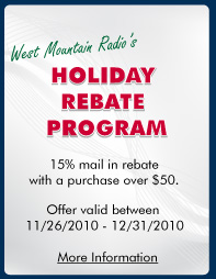 Happy Holidays from West Mountain Radio