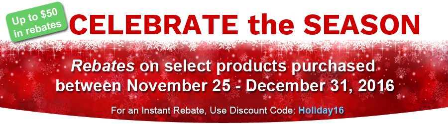 Holiday Rebate Offer